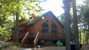 Loon Call Lodge Vacation Rental In St Germain Wisconsin